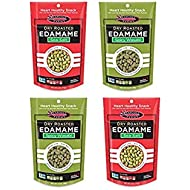 Dry Roasted Edamame Variety Pack, Wasabi & Sea Salt, 4pk (2 each flavor)