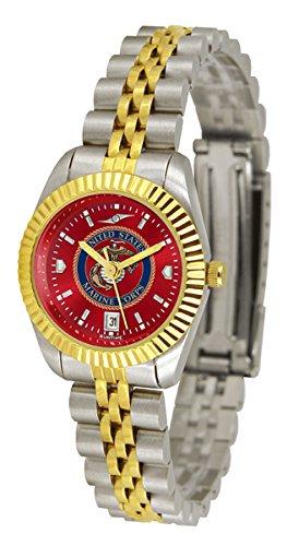 U.S. Marine Corps Executive AnoChrome Women's Watch - Ladies Executive Anochrome Watch