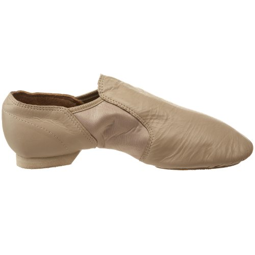 Cappuccino Sansha Jazz Slip Charlotte Leather On Shoe nR8wH