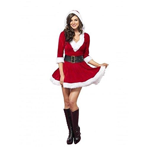 ZHXuan Burlesquecostumecorset Sexy Mrs Claus Dress Outfit Santa