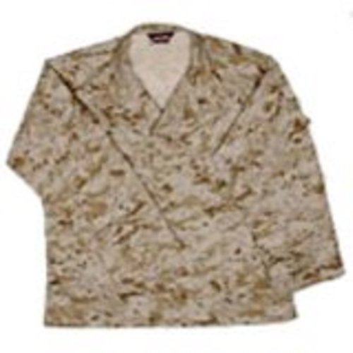 Camo Bdu Military Shirt Jacket - 7