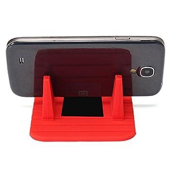 Soporte Universal Silicona Antideslizante Salpicadero GPS Movil para Coche: Amazon.es: Electrónica