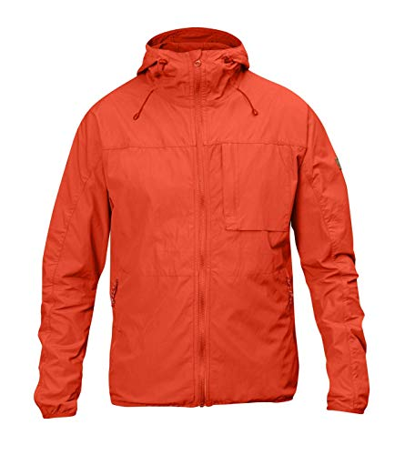 Fjallraven Mens High Coast Wind Jacket Flame Orange MD