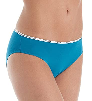 Calvin Klein Women's Cotton Stretch Logo Bikini 5 Pack,