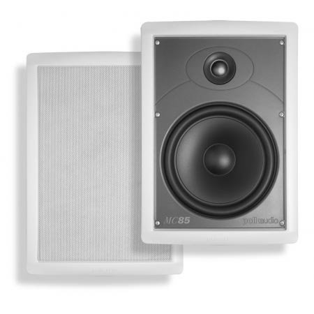 Polk Audio MC85 High Performance In-Wall Speaker by Polk Audio