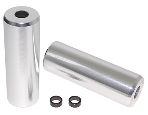 Alloy Pegs T/Less Fits 3/8'' or 14mm W=1 1/2'' L=4 1/2'' Chrome.