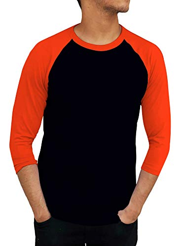 caac5d84e ILTEX Adult Unisex 3/4 Raglan T-Shirts (Neon Colors) (Large