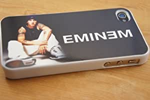 White-Shady Eminem Design iphone 4 4S Case/Cover Hard plastic and metal