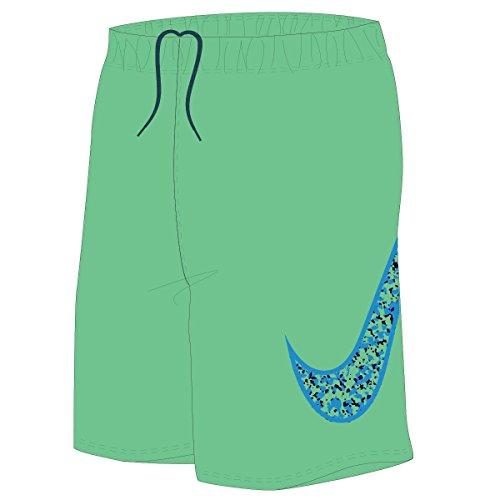 Nike Boys Core Swoosh 9  Swim Trunks Xl Electro Green