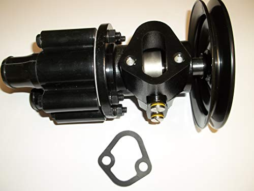 Raw Sea Water Pump Belt Driven Fuel Water Pump with Pulley MerCruiser Bravo 454 502 7.4 8.2 Replaces 46-807151A8