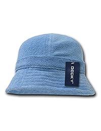 DECKY Terry Bucket Hats, Sky