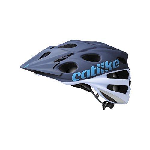 Catlike Leaf 2°C, casco de bicicleta, blanco/negro, grande