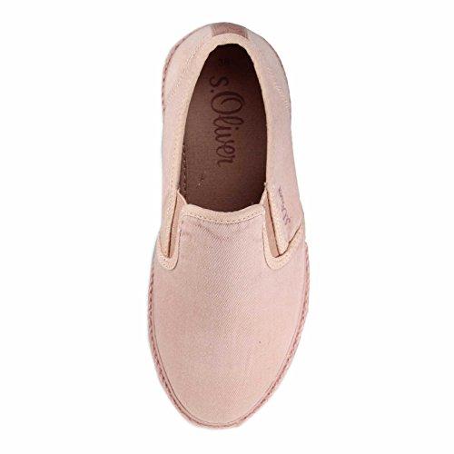 s.Oliver Women's 5-24626-26-512 Loafer Flats rose-Cassis AZMqavUt