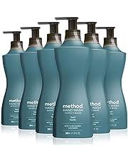 Method Gel liquid hand soap, Basil, 6 Count