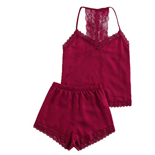 - HYIRI Special New Underwear Women Bra Sets Sexy Satin Luxury Lingerie Bra and Panty Sets Wine Red