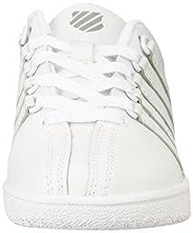 K-SWISS Baby Classic VN Wide-K Sneaker, White/White, 2 W US Infant
