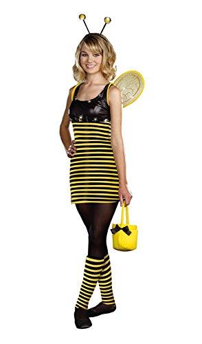 Dreamgirl Teen Tween Girls Bumblebee Bumble Bee Halloween Costume -