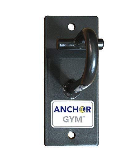 Anchor Gym H1 Workout Wall Mount Strap Anchor Wall Ceiling Mounted Hook Exercise Station For Suspension Straps Resistance Bands Strength Training Yoga Home Gym