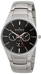 Skagen Men's SKW6054 Aabye Quartz/Multi Stainless Steel Silver Watch