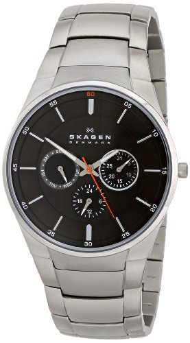 Skagen Men's SKW6054 Aabye Quartz/Multi Stainless Steel Silver Watch by Skagen