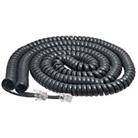 Cisco Handset Gray Curly Cord 25 Ft Uncoiled / 4 ft Coiled (10 PACK)