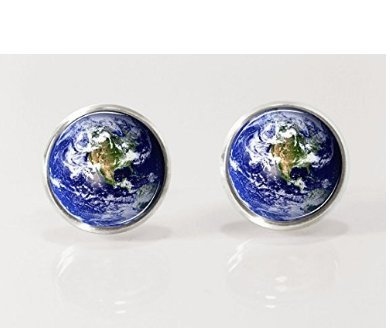Planet Earrings Nature Jewelry Picture