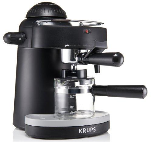 how to use a krups espresso coffee machine