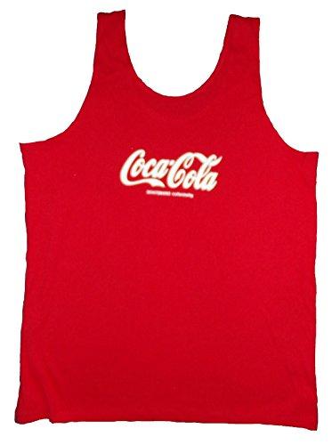 Coca Cola - Trägershirt Gr. L-XL