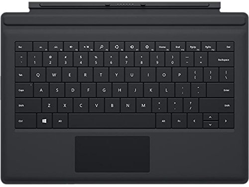 Microsoft Surface 3 Type Cover SC English US/Canada Hdwr, Black (A7Z-00001) (Surface Pro 3 Keyboard Type)