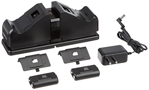 Amazon com: AmazonBasics Dual Charging Station for Xbox One, Xbox