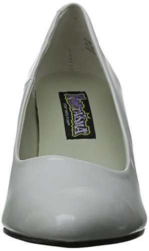 Funtasma PUMP-420 - Halloween costume shoes carnival White Patent AWTPfc0Q