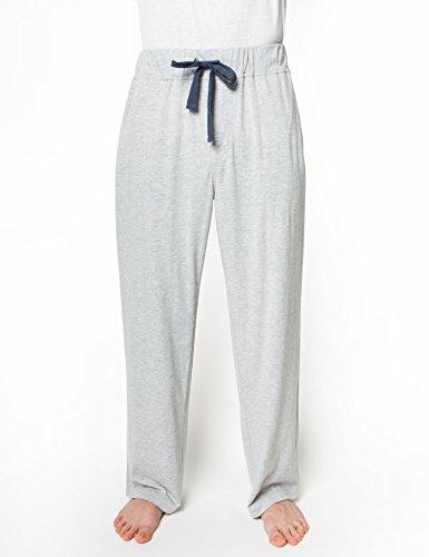 Light Grey Heather (Rebel Canyon Young Men's Soft Cotton, Jersey Drawstring Waist Lounge Pant Medium Light Grey Heather)