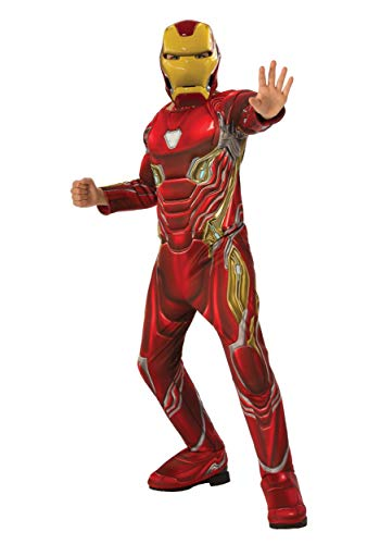 Rubie's Marvel Avengers: Infinity War Deluxe Iron Man Child's Costume, Medium