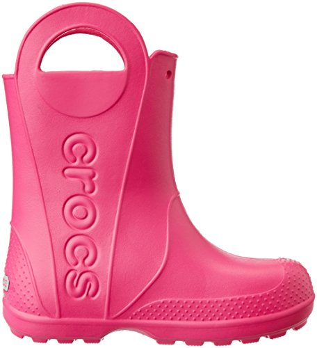 Crocs Agua It De Niños Boot Pink Botas candy Rosa Unisex Rain Handle 1n1SqYpr6