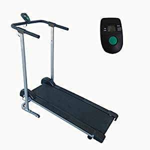 Sunny Health & Fitness SF-T1407M Manual Walking Treadmill, Gray from Sunny Distributor Inc.