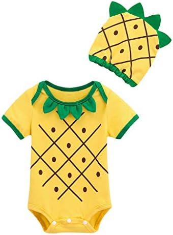 Divertido Pijama, K-Youth Pelele Bebe Niño Verano Disfraz Piña ...