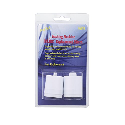 Inline Water Filters 84470 Washing Machine Replacement Filter (2-Pack)