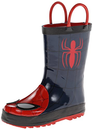 Toddler Boy's Western Chief 'Ultimate Spider-Man' Rain Boot,