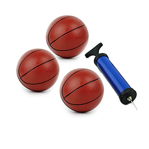 Toddler Basketball for kids Water Pool Ball Inflatable Toy with Pump (3 pack)