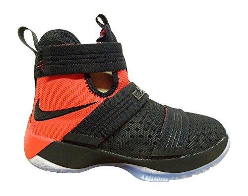 83b0183412224 Nike Lebron Soldier 10 (GS) Hi Top Basketball Trainers 845121 Sneakers Shoes  (4.5 M US BIG KID, black university red 006) - Buy Online in Oman.