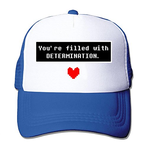 adult-mesh-baseball-cap-undertale-youre-filled-with-determination-trucker-hat-5-colours