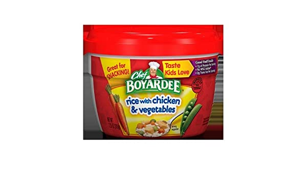 Expect More Chef Boyardee Rice With Chicken Vegetables 6