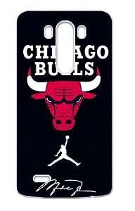 Hoomin Chicago Bulls Air Michael Jordan Logo LG G3 Cell Phone Cases Cover Popular Gifts(Laster Technology)