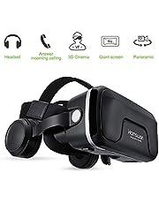 HAMSWAN Occhiali VR Compatibile con Tutti Gli Smartphone da 4,7 a 6,0 Pollici