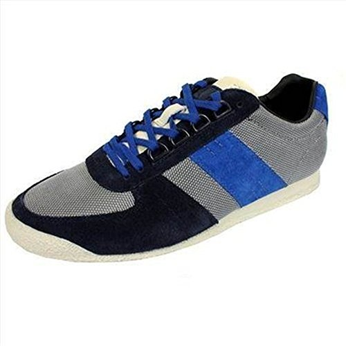 HUGO BOSS TRAINERS CALMESO MENS BLUE BLACK SHOES discounts for sale A9tiENG4pe