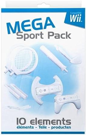 Bigben Mega Sports Pack - cajas de video juegos y accesorios (Blanco, 200 mm, 326 mm, 582 g, 90 mm) White: Amazon.es: Videojuegos