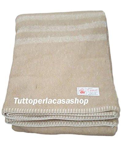 Coperta misto lana ideale per albergo B&B agriturismo misura letto ...