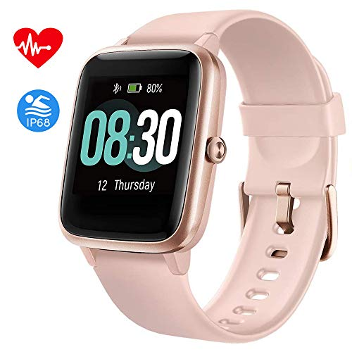 Fitpolo Fitness Tracker, Smart Watch Step Trackers with Heart Rate Monitor, IP68 Featured fitness fitpolo heart ip68 rate smart step trackers watch with