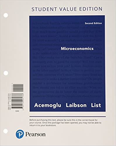 Microeconomics student value edition plus mylab economics with microeconomics student value edition plus mylab economics with pearson etext access card package 2nd edition 2nd edition fandeluxe Image collections
