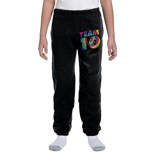 DJKOLPSPP Team10 Tie Dye Jake Paul Youth Leisure Sports Drawstring Closed Jogging Pants